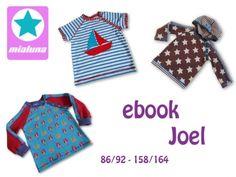 Ebook Raglanshirt Joel 86/92-158/164