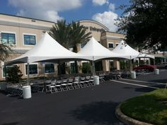 20 x 60 Frame Tent at Keiser College