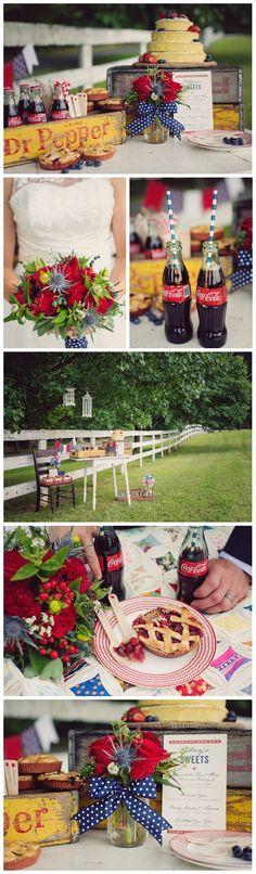 red-white-blue-wedding