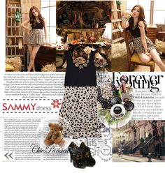 """Sammydress#2"" by sara-valentino ❤ liked on Polyvore"