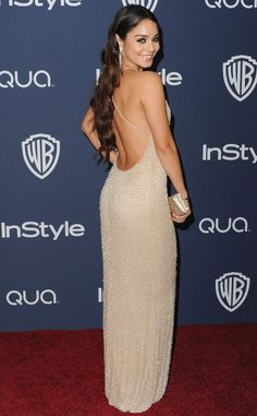 Vanessa Hudgens at the Golden Globes