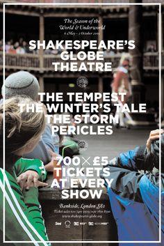 Shakespeare's Globe Theatre – 2005 season 2004   Campaign ...