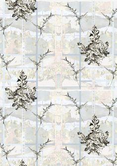 'Thistles' wallpaper 180gsm 52cm width