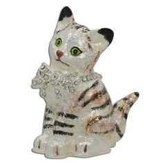 Buy Maine Coon Cat with a Crystal Bow Jewelry Trinket Box Figurine. BestPysanky Online Gift Shop Offers Royal > Jewelry Boxes for Sale Bow Jewelry, Royal Jewelry, Online Gift Shop, Online Gifts, Wooden Block Puzzle, Jewelry Boxes For Sale, Plastic Display Cases, Maine Coon Cats, Trinket Boxes