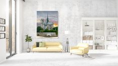 High quality photo or canvas print* of the beautiful Notre-Dame cathedral in Paris, before the devastating fire in April 2019.  Best quality for your best memories! For that reason, we print your photos exclusively on high-quality premium paper (233 g/m²) and canvas with a 100-year color guarantee (color-fast, UV-resistant). In addition, our automatic image optimization (DPO) ensures optimal results and radiantly beautiful photos.