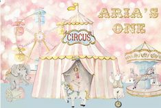 Custom Circus Pink Carnival First Birthday Backdrop Custom Girls Birthday Party Banner Cake Table Backdrops Baby Shower Background Custom Circus Pink Carnival First Birthday Backdrop Custom Girls Birthday Party Banner Cake Table Ba Circus Birthday, Circus Party, 1st Birthday Girls, 1st Birthday Parties, Party Photography, Photography Backdrops, Cake Table Backdrop, Baby Shower Background, Birthday Backdrop