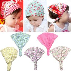 1 X Sweet Girl Kids Knot Hairband Turban Headband Headwear for Baby Toddler LJ