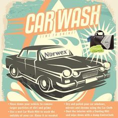 Ready to spring clean your car? Here's how you can quickly do it using no chemicals with Norwex!