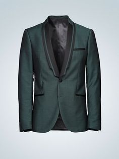 Tiger of Sweden Martinii tuxedo blazer in Green/Dusky Moss Wedding Coat, Gatsby Wedding, Dapper Gentleman, Dapper Men, Tiger Of Sweden, Sharp Dressed Man, Tuxedos, Male Fashion, Stylish Men