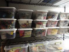 Organizing Montessori Materials at home