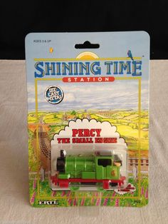 NEW Shining Time Station ERLT 1992 Thomas & Friends #6 PERCY The Small Engine #Ertl