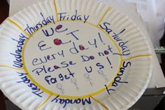 Paper Plate Campaign - Community FoodBank of New Jersey Food Bank, A Food, Paper Plates, New Jersey, Campaign, Community, Communion