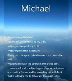 Aartsengel Michael ik roep u aan....