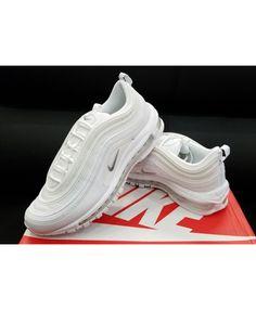 a50e1293c1 Nike Air Max 97 triple White Sale Uk Nike Air Max White, Cheap Nike Air