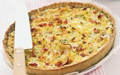Ricotta, Prosciutto, Pancetta, Savoury Dishes, Greek Recipes, Hawaiian Pizza, Vegetable Pizza, Quiche, Food And Drink