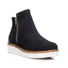 Ghetute Piele Negru V6 - pe stoc Chelsea Boots, Ankle, Shoes, Fashion, Moda, Zapatos, Wall Plug, Shoes Outlet, Fashion Styles