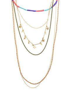 Venessa Arizaga Malibu Necklace, $350