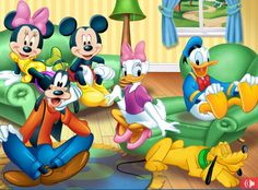 mickey and friends - Google Search