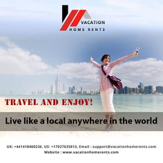 Travel and Enjoy!  Live like a local anywhere in the world.................  #travelandenjoy #travelandenjoylife #roadtrips #travelphotography #beachtime #beachvibes #beautifuldestinations #neverstopexploring #travel #traveling #vacation #visiting #exploremore #holidayshome #vacationhomes #vacationhomerents