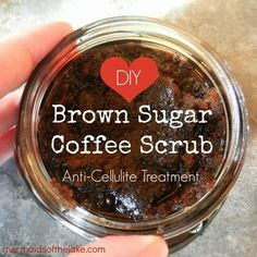 Color My Bliss: DIY Brown Sugar Coffee Scrub