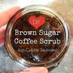 Color My Bliss: DIY Brown Sugar Coffee Scrub
