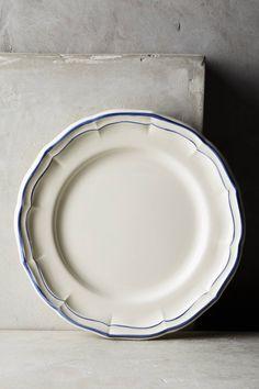 Slide View: 1: Gien Filet Bleu Dinner Plate