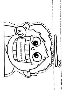 Senses Activities, Preschool Learning Activities, Preschool Worksheets, Preschool Activities, Teaching Kids, Manners For Kids, All About Me Preschool, Free Printable Art, Hygiene