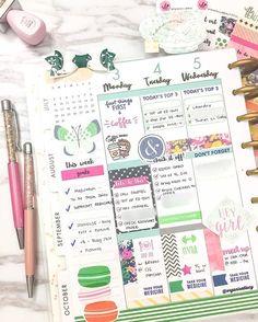 Midweek in my Happy Planner. Wishing everyone a beautifful weekend