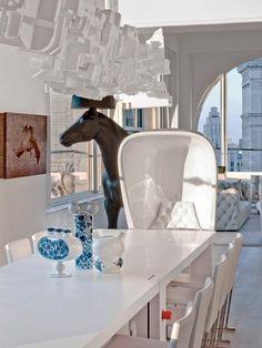 Skyhouse, New York, 2012 - David Hotson Architect, Ghislaine Viñas Interior Design