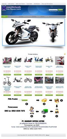 ManrapiSepedaListrik.com | Tampilan dengan produk Eplug eBike Retro Z di katalog