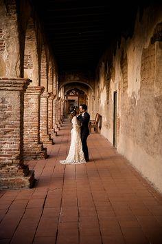 Mission San Juan Capistrano Anniversary Shoot from Theresa Bridget Photography   Southern California Bride