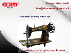 Sewing Machine Manufacturers & Suppliers in India