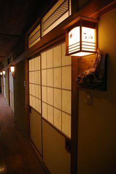 Hallway at Kunisaki Ryokan in Obama Onsen   Japanese Guest Houses