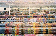 ANDREAS GURSKY 99 cent, 1999 cibachrome print 81 1/2 × 132 5/8 in 207 × 336.9 cm Edition of 6