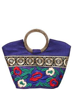 Royal Purple Traditional Handbag