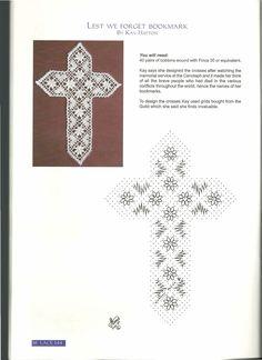 Bobbin Lace Patterns, Cross Patterns, Crochet Cross, Crochet Geek, Crochet Lace, Christmas Crochet Patterns, Afghan Crochet Patterns, Bobbin Lacemaking, Cross Crafts