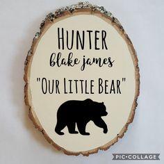 Out Little Bear. Woodland Nursery Decor