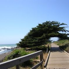 Moonstone Beach, Cambria, California.
