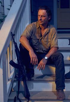 As Rick Grimes (The Walking Dead)