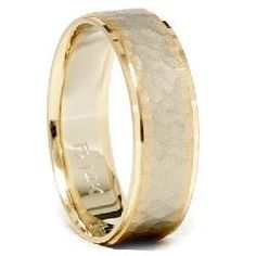 Hey, I found this really awesome Etsy listing at http://www.etsy.com/listing/70814755/mens-hammered-14k-white-yellow-gold-2