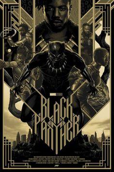 Black Panther (2018) [683x1024] By Matt Taylor