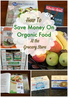 Saving money on organic food at the grocery store and wholesale clubs is easier than you think. These tips will help get you started! | MealPlanningMagic.com