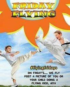 At Choe's HapKiDo we can't help but be excited for the weekend! To start it off we like to throw our best flying ninja moves  #martialarts #lifestyle #selfimprovement #education #mixedmartialarts #karate #judo #martialartstricking #taekwondo #tkd #juijitsu #bjj #martialartslife #fitness #gymlife #workout #kids #training #selfdefense #goals #ninja #kids #teens #adults #May