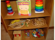 Montessori Baby Shelf from Parenting in the Moment
