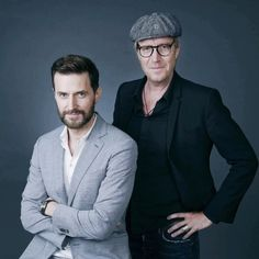 Richard Armitage & Rhys Ifans at TCAT Epix Berlin Station Press Conference in LA July, 30 2016