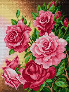 Gallery.ru / Фото #122 - Цветочное панно 3 - elena-baldair Butterfly Cross Stitch, Cross Stitch Bird, Cross Stitch Borders, Counted Cross Stitch Kits, Cross Stitch Flowers, Modern Cross Stitch, Cross Stitch Designs, Cross Stitch Embroidery, Cross Stitch Patterns