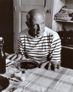 Les Pains de Picasso, c.1952 - Posters av Robert Doisneau på AllPosters.se