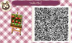 Strawberry Garden Box - Animal Crossing New Leaf QR Code