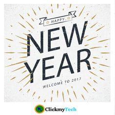 Wish you Happy New Year 2017