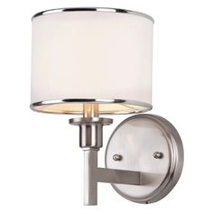 Trans Globe 1051 BN Wall Sconce - Brushed Nickel - 16.75W in. - 1051 BN